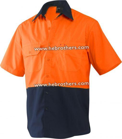 Spliced Steel Shirt (Short-sleeve)