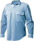 Epaulette Wash n Wear Shirt (Long-sleeve)